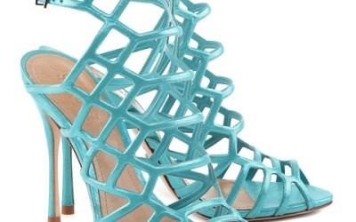 Sandali azzurri Schutz