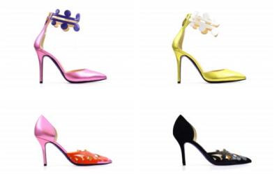 Le scarpe della collezione Primavera/Estate 2016 di Catherine de' Medici 1533