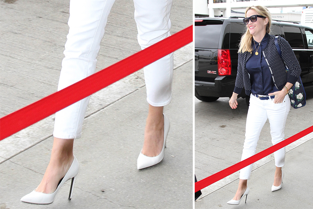 Reese-Witherspoon-Saint-Laurent-Paris-Pumps-White