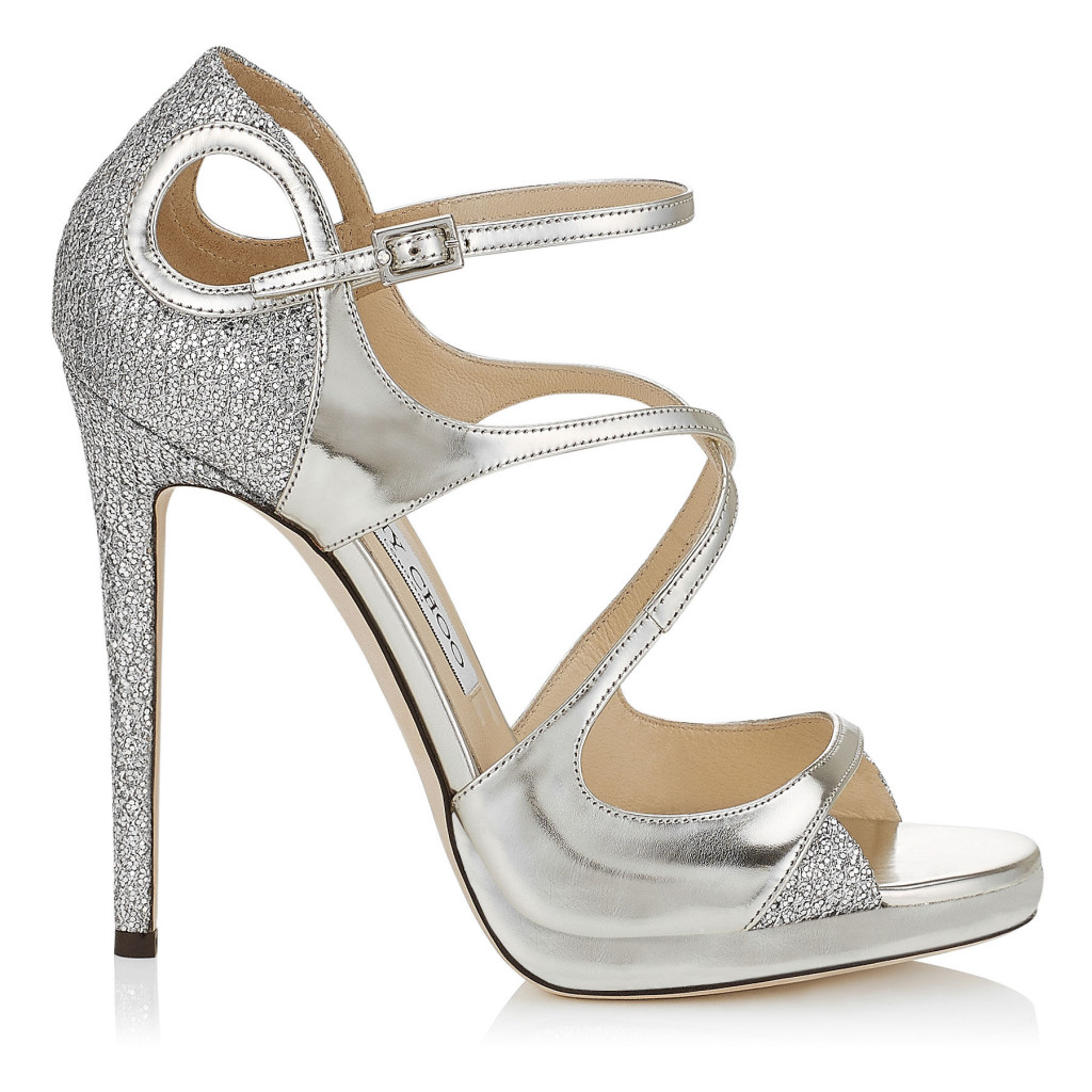 Scarpe sposa e non solo Sandali gioiello da sposa. raso seta bianco ...