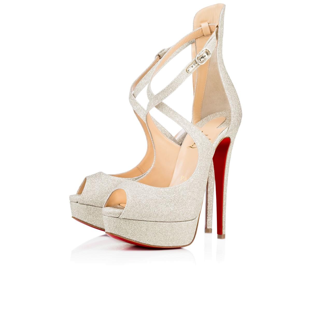 louboutin scarpe sposa