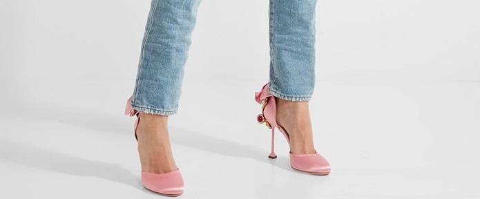 Miu Miu punta sul rosa baby e sui tacchi sottili