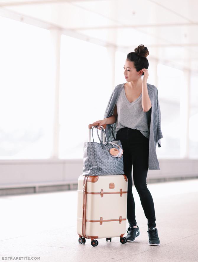 outfit da viaggi