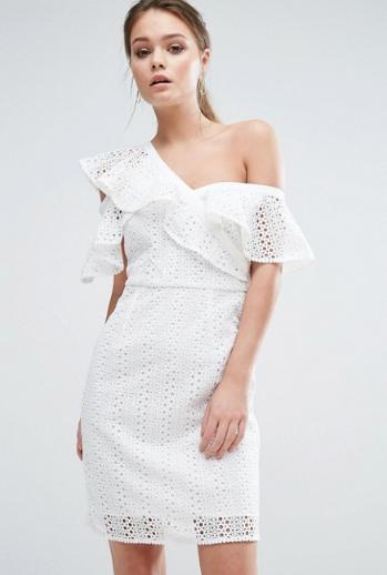 abito bianco 2017