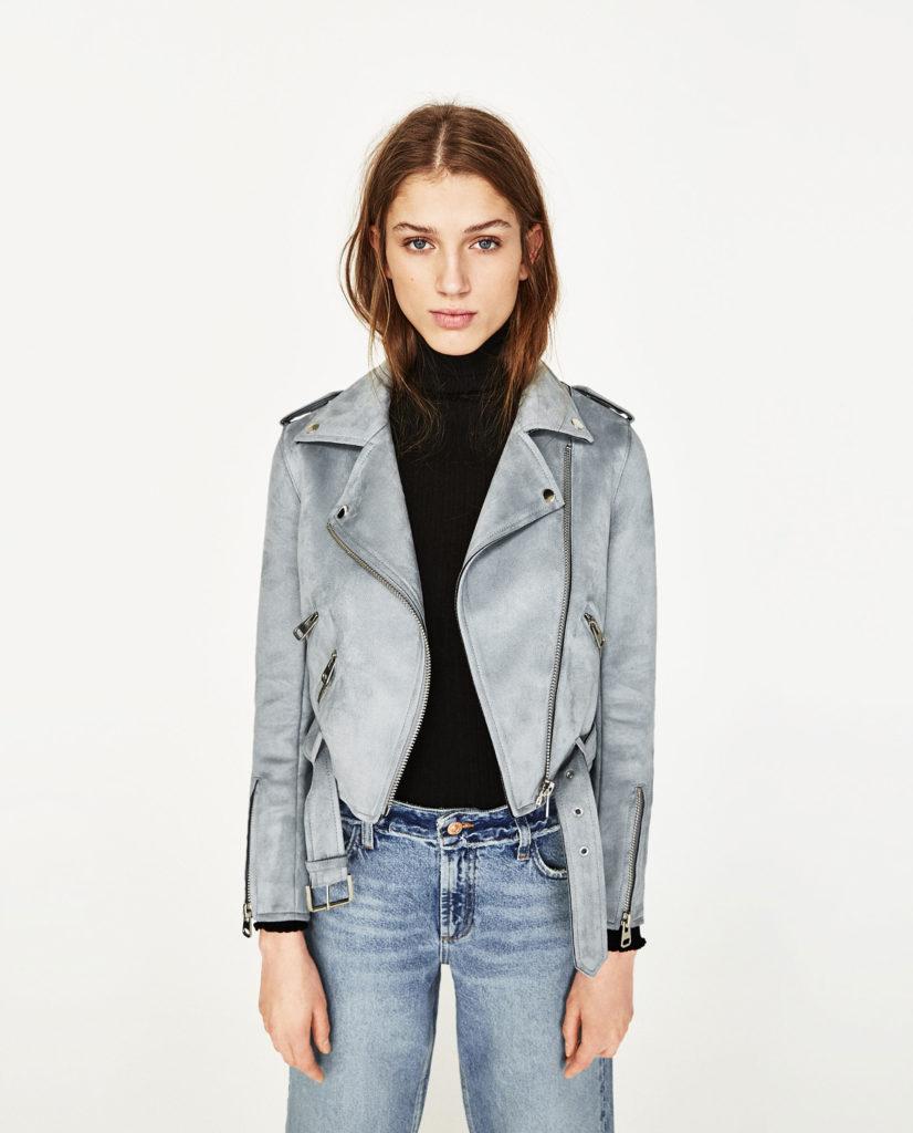 giacche zara in pelle