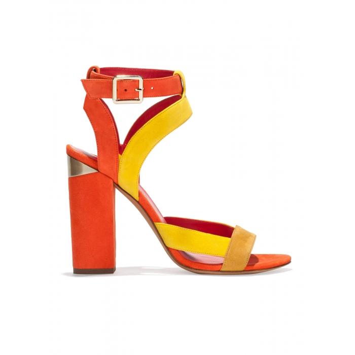 sandali tacco largo