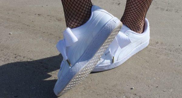 scarpe abbinare alle calze a rete