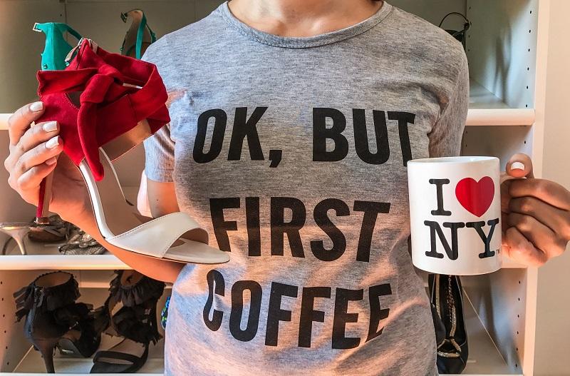 maglietta ok but first coffee
