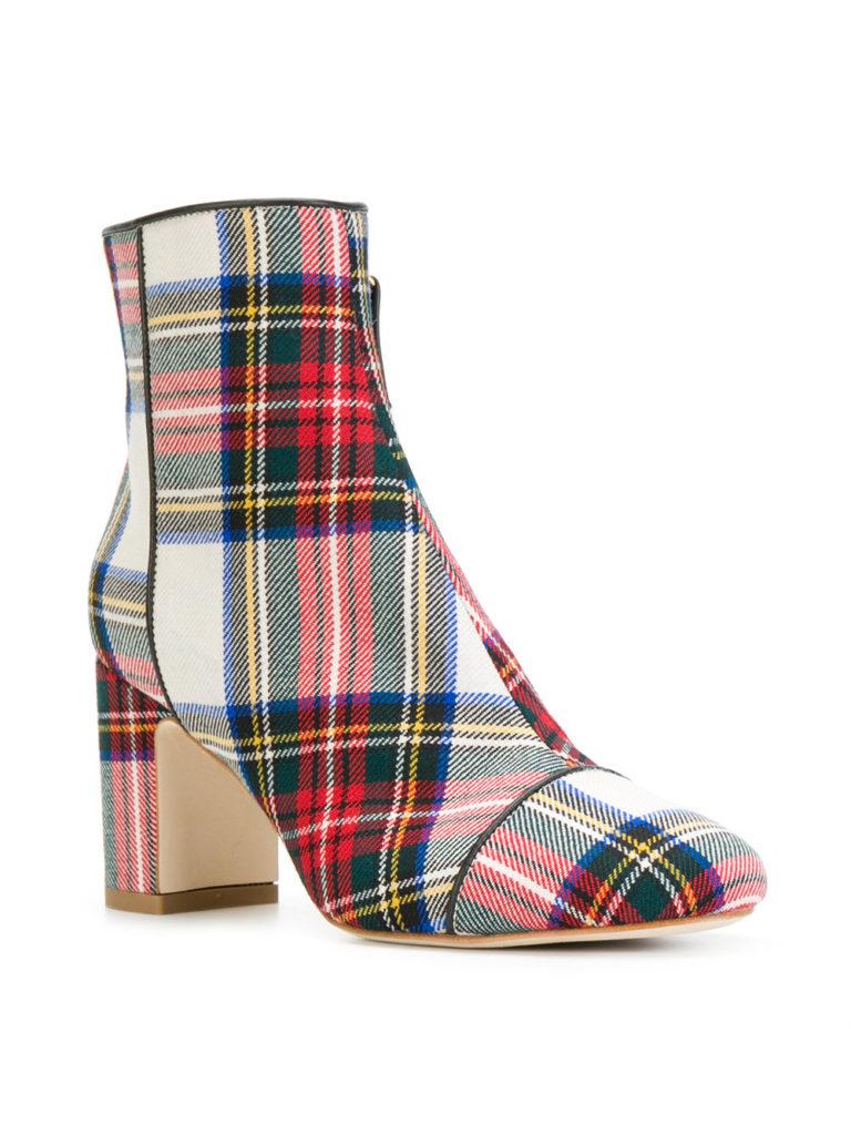 scarpe tartan