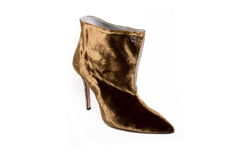 parthenope scarpe velluto