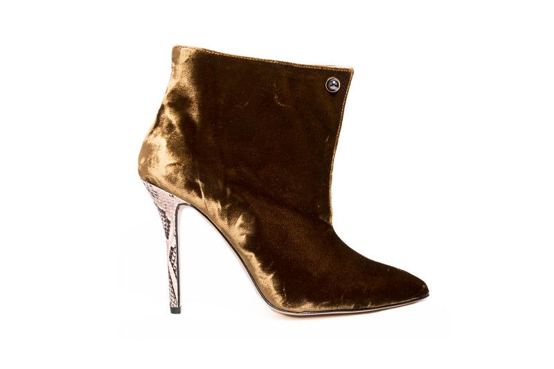 ankle boots velluto