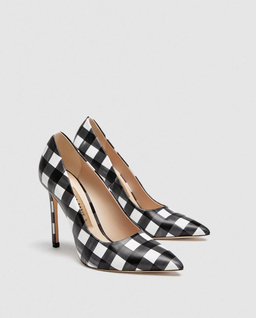 scarpe a quadri