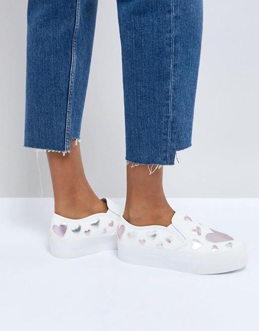 sneakers cuori