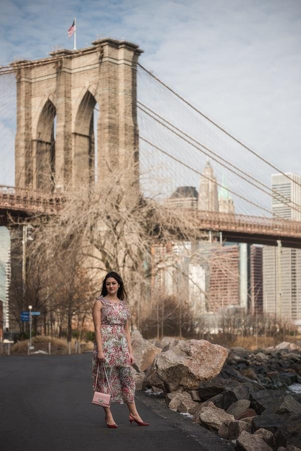 fashion blogger dumbo new york
