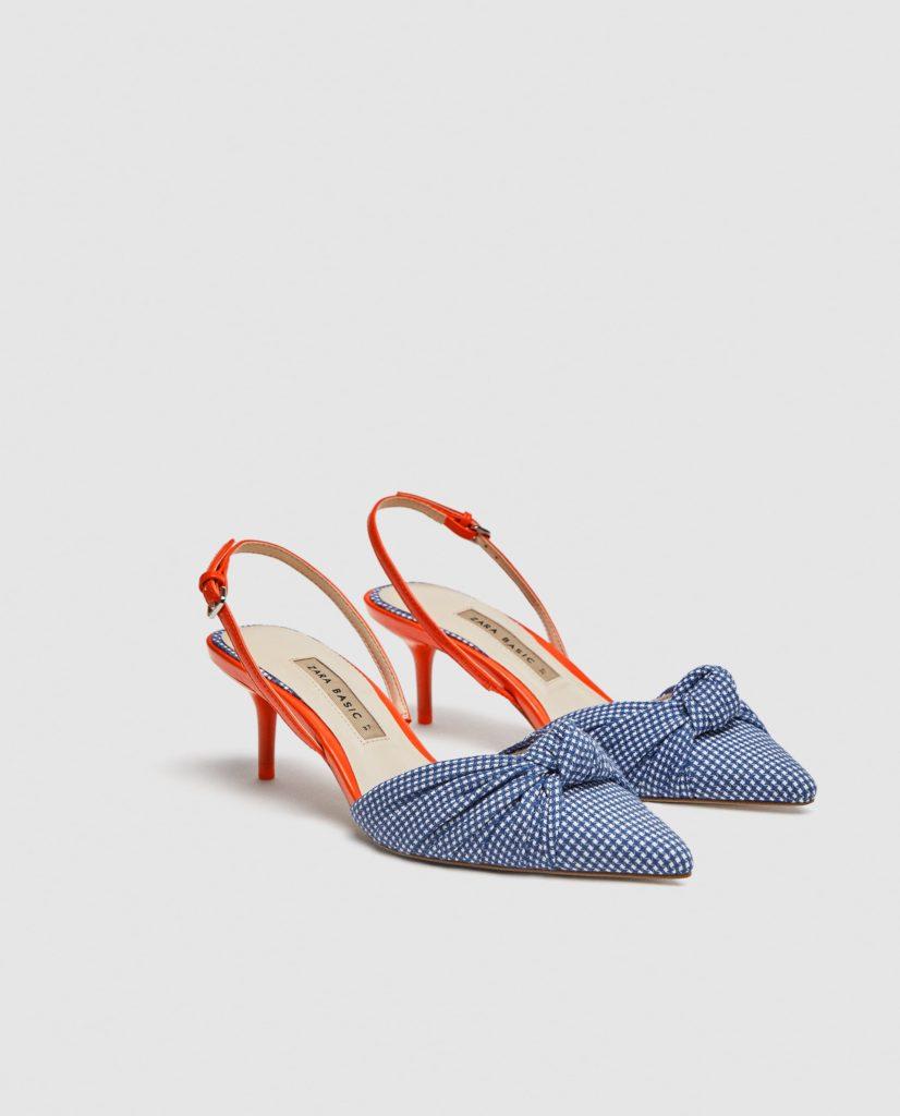 scarpe slingback zara
