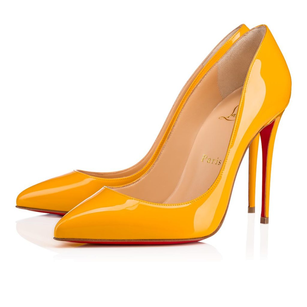 louboutin fall winter 2018 Giallo