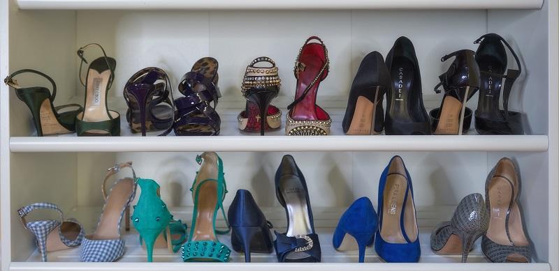 scarpiera collezione