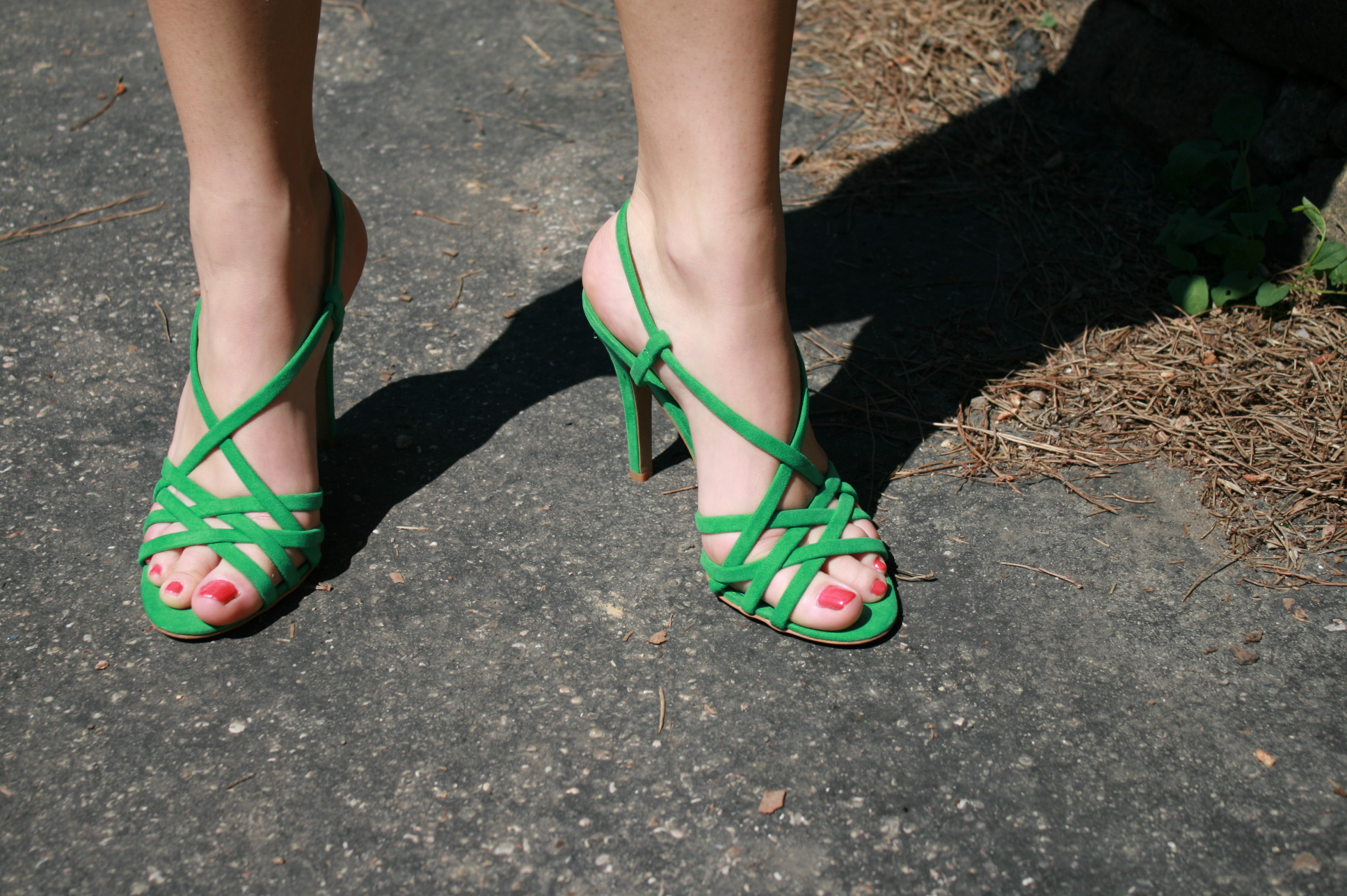 sandali zara verdi estate 2011