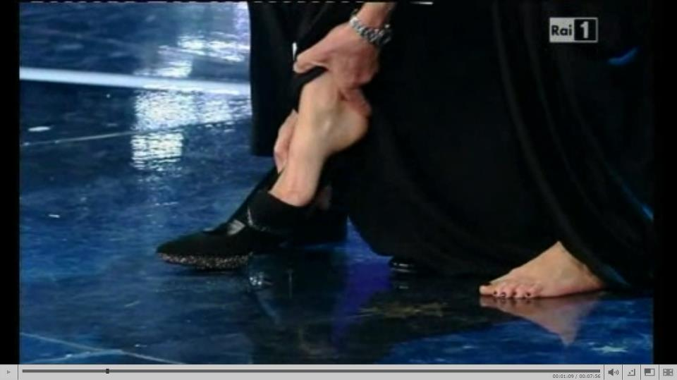 scarpe geppi cucciari sanremo 2012
