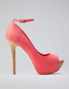 sandali low cost altissimi rosa