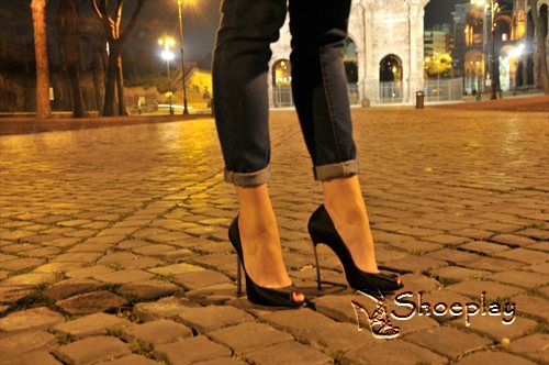 casadei blade open toe pump blade sandal