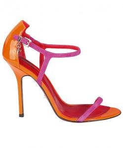 sandali paciotti estate 2012 arancio fuxia