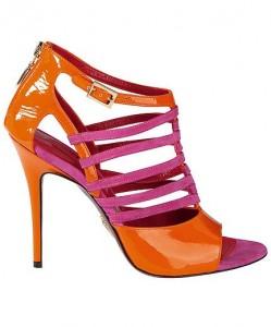 sandalo paciotti arancio fuxia estate 2012