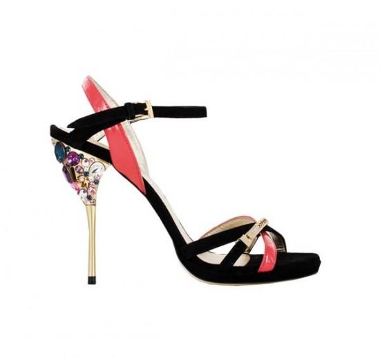 loriblu tacco gioiello sandali estate 2012