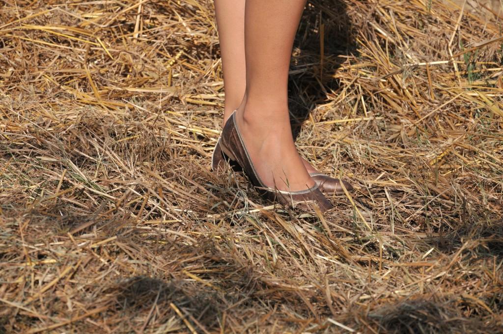 recensione scarpe di carta cartina la ballerina indossata shoegal flats 2012