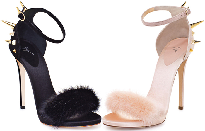 Giuseppe Zanotti 2012 Di Fall Fashion Sandal Shoeplay Mink Blog BeWrCoxd