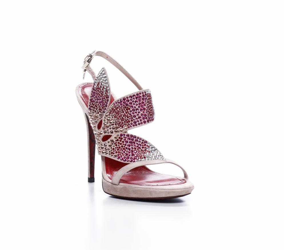 paciotti sandali 2012 rosa gioiello