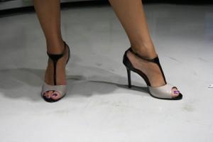 sandalo bicolori tacco medio hassan