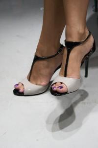 sandali bicolori hassan calzature