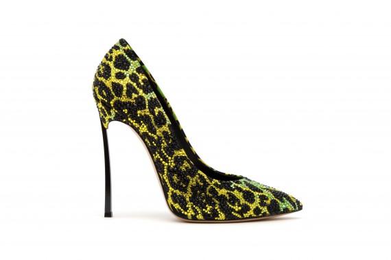 casadei blade leopardate