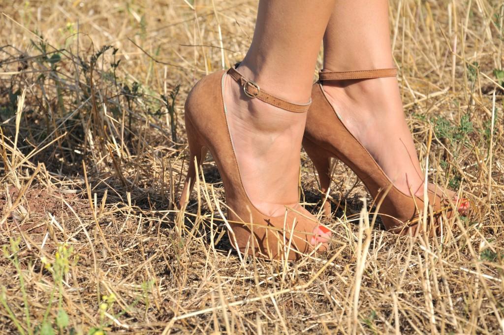 scarpe bershka tacco alto