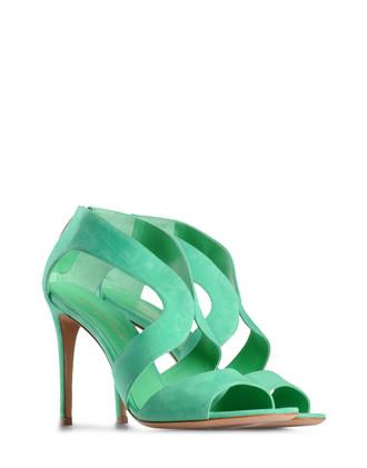 sandali verde mela sandali verde smeraldo 2012