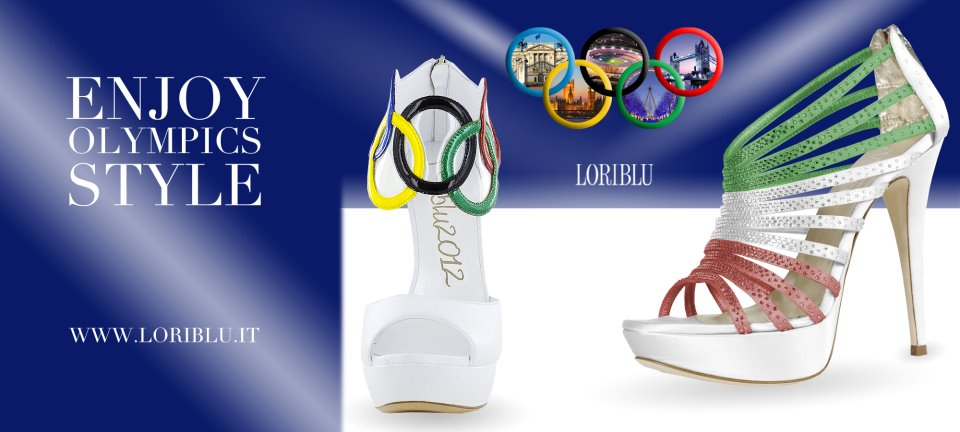 sandali olimpiadi 2012 scarpe per le olimpiadi tricolori