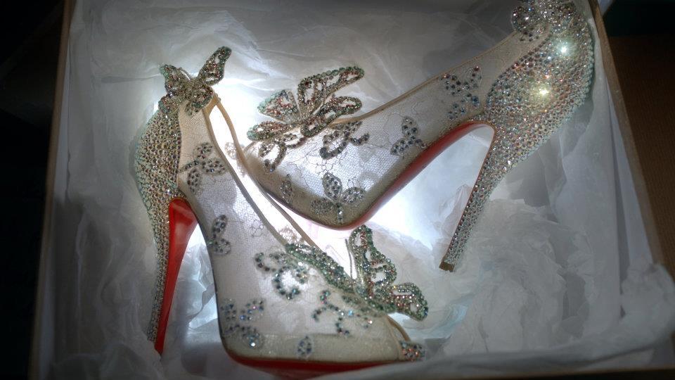 scarpe cenerentola louboutin scarpetta 2012