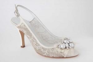 scarpe da sposa pizzo orooro 2012