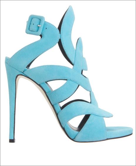 sandali azzurri zanotti tacco altissimo