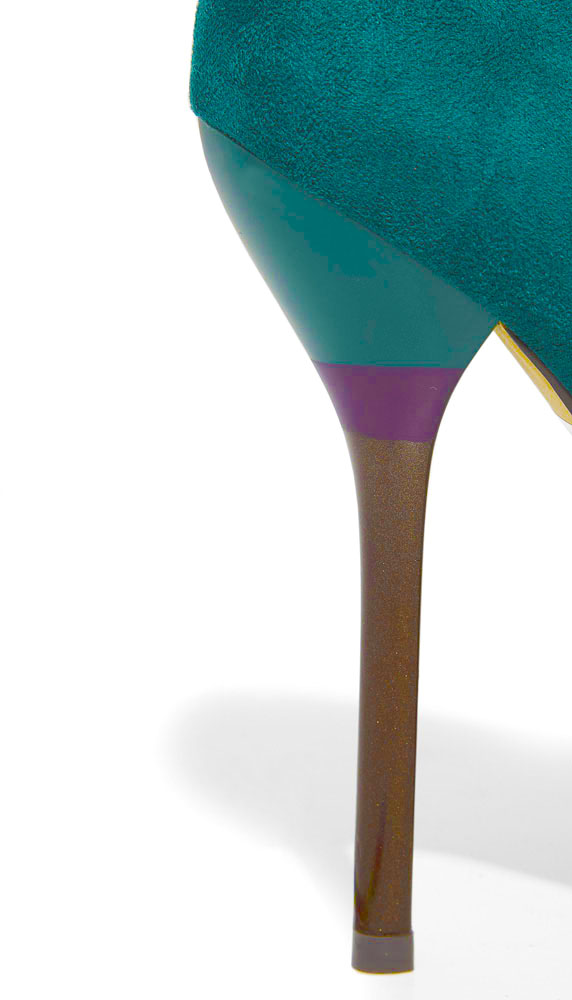 pittarello 2012 scarpe verdi tacco altissimo