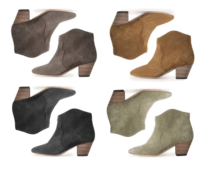 ankle boots isabel marant dicker boots 2012 2013