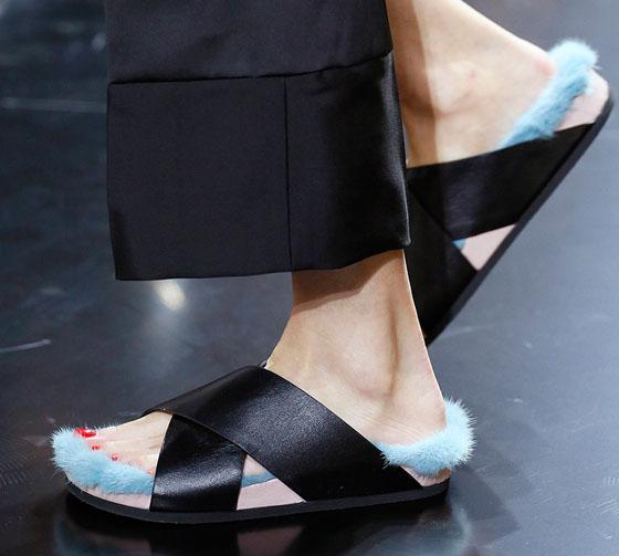 sandali piatti celine 2013