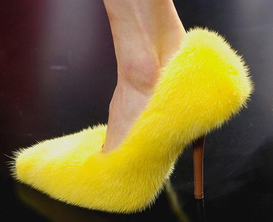 scarpe sfilata celine