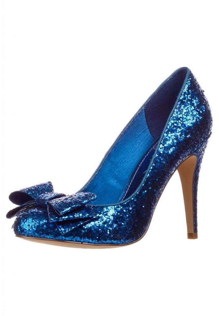 scarpe glitter blu elettrico zalando low cost