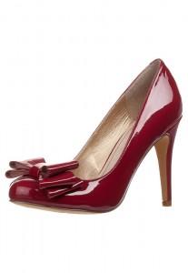 scarpe rosse fiocco low cost zalando