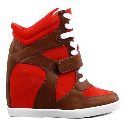 sneakers zeppa interna low cost simil isabel marant