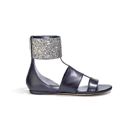 flats sparling contrasts la rinascente milano 2012 sandali bassi