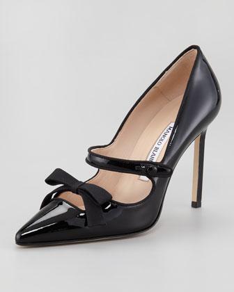 manolo blahink scarpe fiocco sex and the city