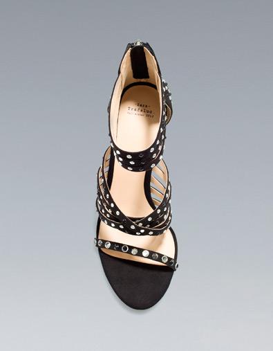 scarpe zara recensioni novità prezzi sandalo gioiello low cost